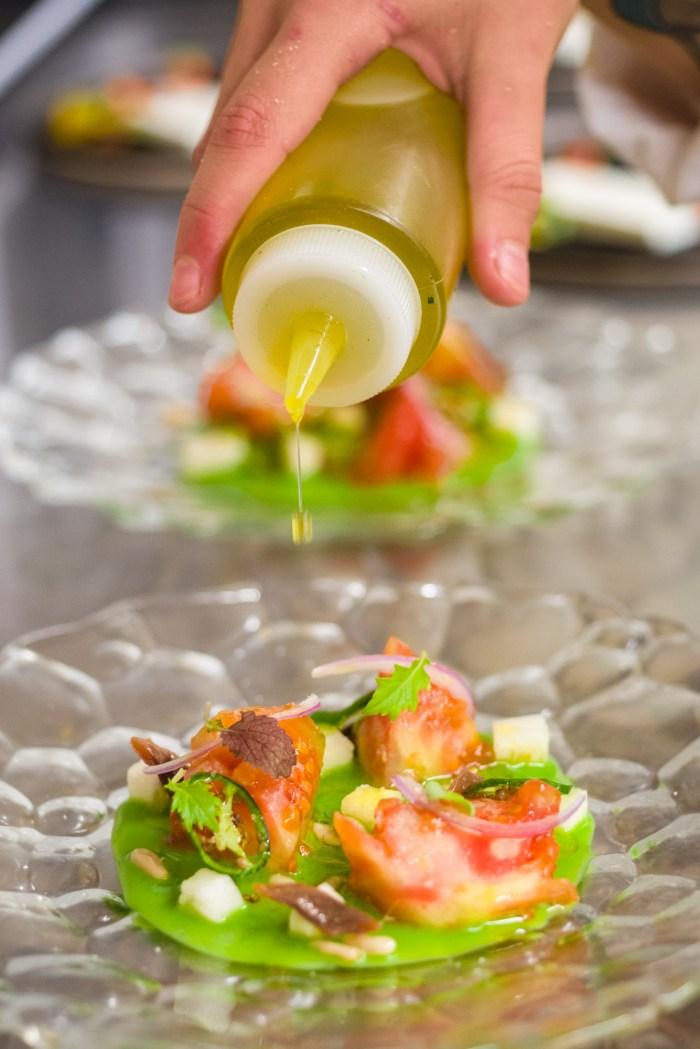 Fotografía de producto gastronómico para restaurante A Maceta