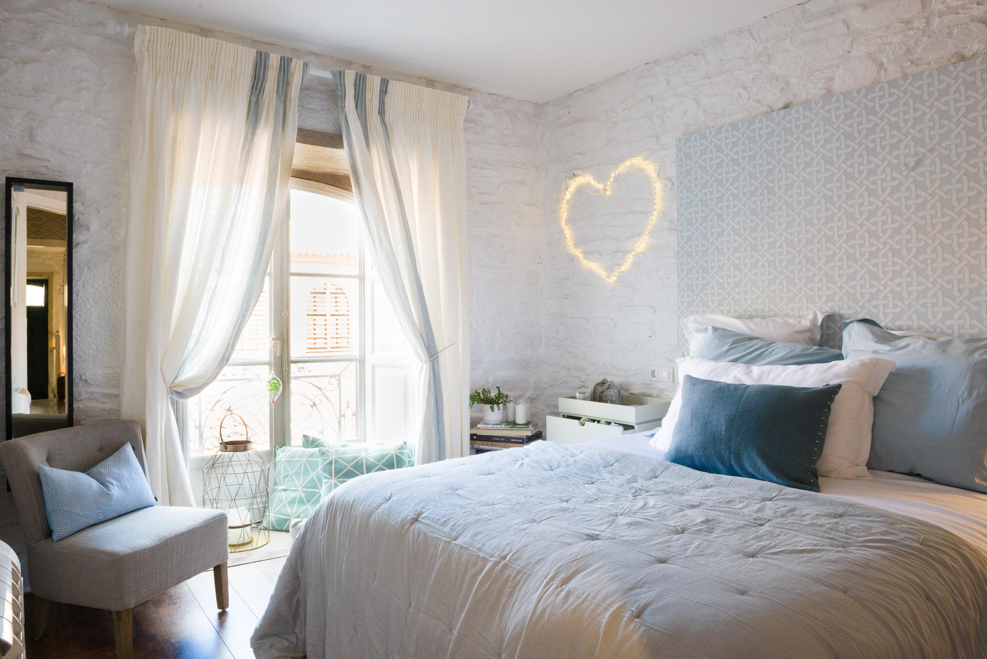Fotografía de interiores-dormitorio showroom Myka deco-Santiago de Compostela