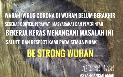 Be Strong Wuhan!