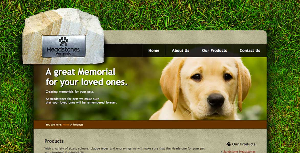 Headstones for Pets