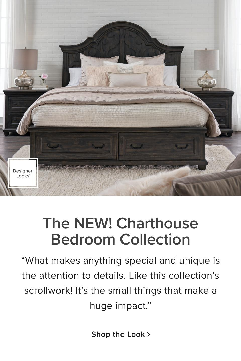 Art Van Bedroom Sets Clearance : bedroom, clearance, Charthouse, Bedroom, Collection, Designer, Looks