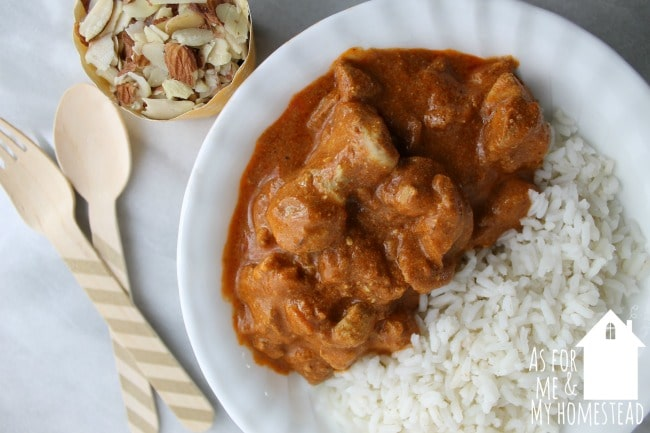Indian butter chicken is a fabulously flavorful dinner recipe that cooks in less than 30 minutes.