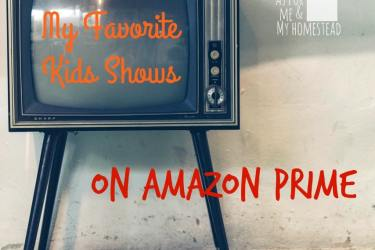 My Favorite Kids Shows on Amazon Prime