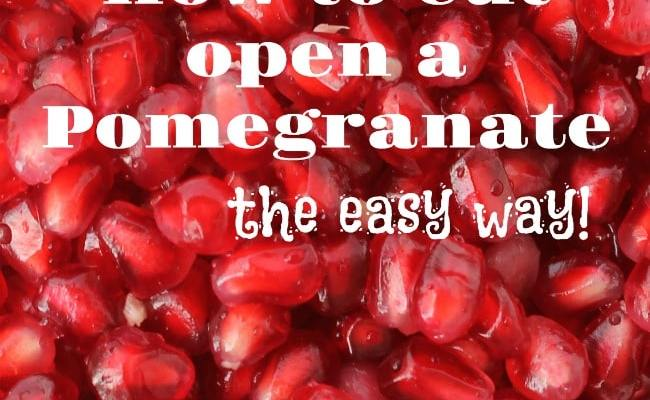 How To Cut Pomegranate Make Juice Easy Method Life Cuitan Dokter
