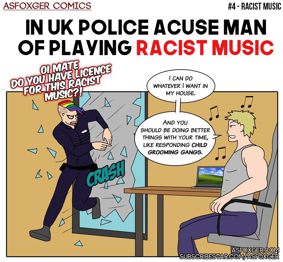 Racist music