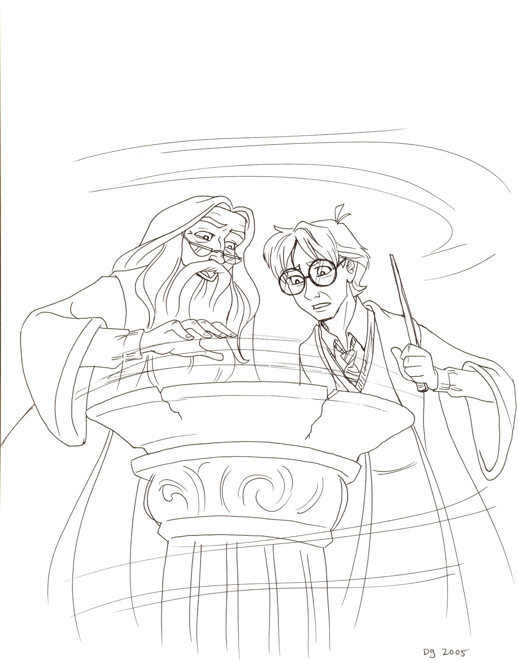 Drew Graham's Gallery :: Harry Potter and the Half-Blood