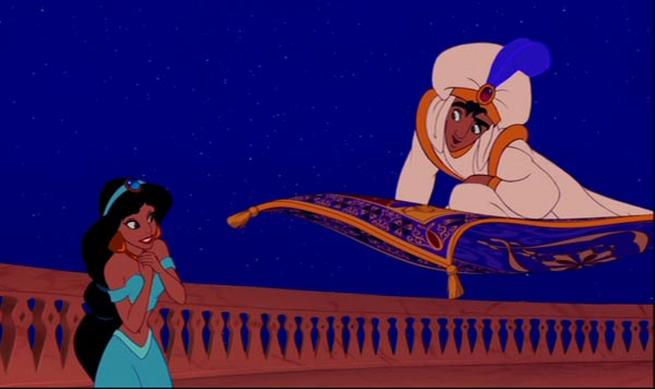 Couple Cartoon Wallpaper With Quotes Animated Heroes Aladdin