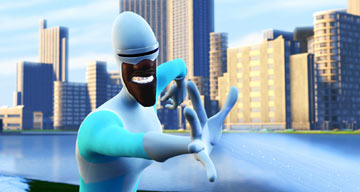 Animated Heroes Frozone