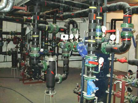 Изображение системы горячего водоснабжения