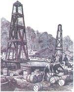 Первая в мире нефтяная скважина