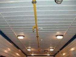 Система автоматического пожаротушения в модульной компрессорной станции
