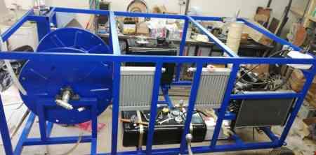 Специальное оборудование, мобилизованное под необходимый вид работ