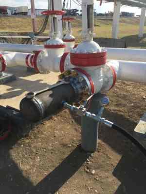 Работы на магистральном нефтепроводе