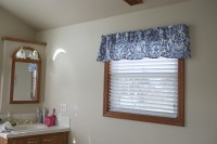 how to make your own bathroom valances | as GOLD as it gets