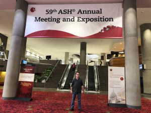 Michael Tuohy, American Society of Hematology 59th annual meeting