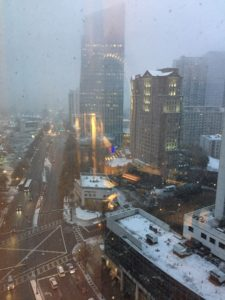Atlanta, American Society of Hematology annual meeting, ASH 2017, ASH17, snowing in Atlanta