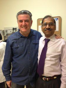 Charlie Mooney, Dr. Sundar Jagannath, multiple myeloma patient, multiple myeloma doctor, mutliple myeloma specialist