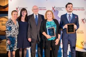 Jennifer Scarne, Susie Durie, Dr. Robert A. Kyle, Cindy Chmielewski, and Enrico Milan, PhD