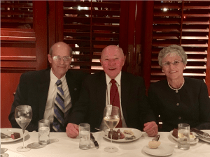 Jim Omel Ron Hood Sue Hood 2018 Brian D. Novis Research Grant