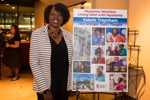 Valarie Traynham at the 2018 IMF Brian D. Novis Research Grants reception