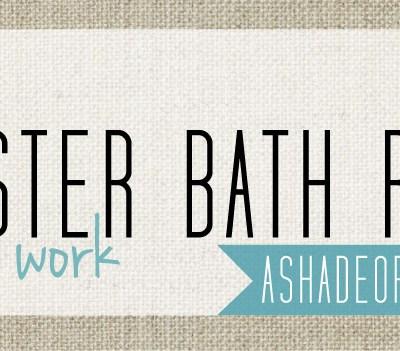 Master Bath Redo; Prep Work