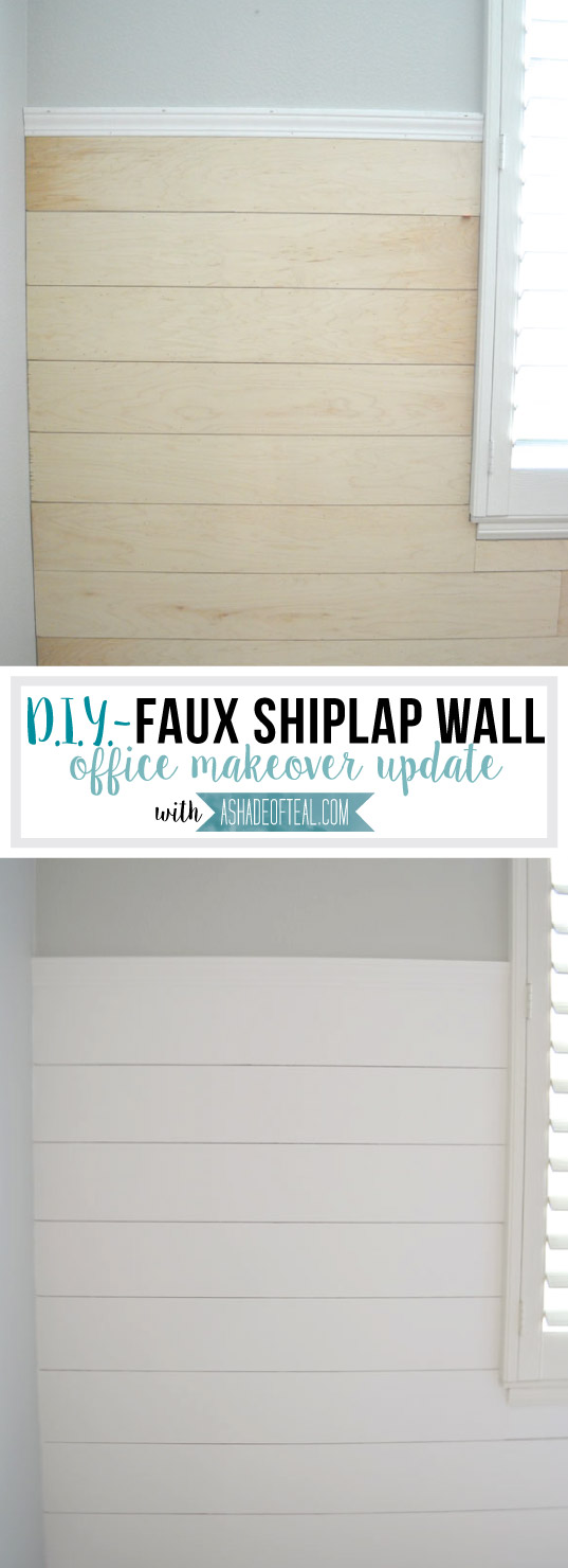 Diy faux shiplap wall for Bathroom items that start with g