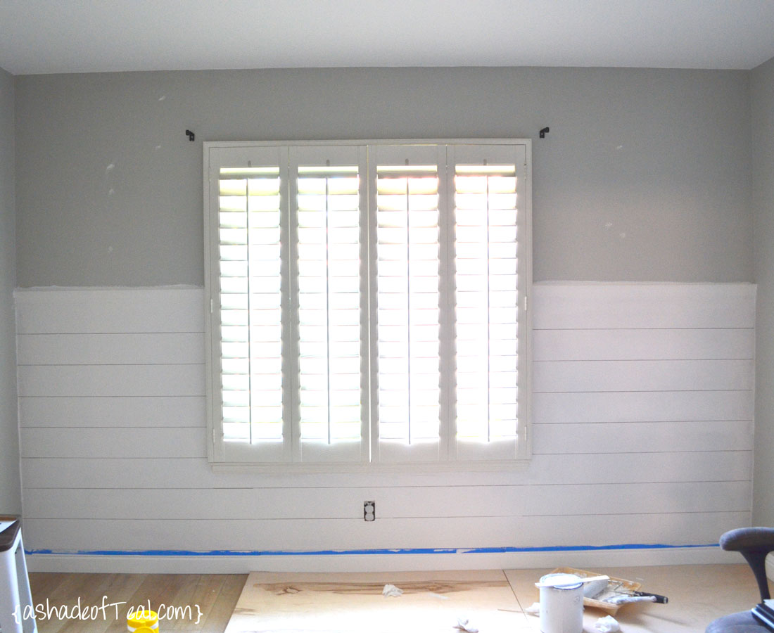 Finest DIY- Faux Shiplap Wall YE73
