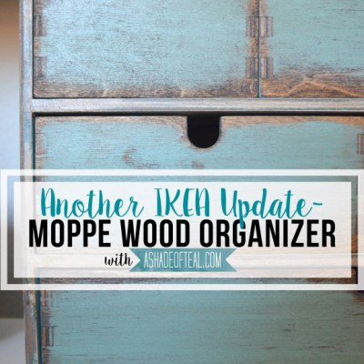 Another IKEA Update- Moppe Organizer Makeover