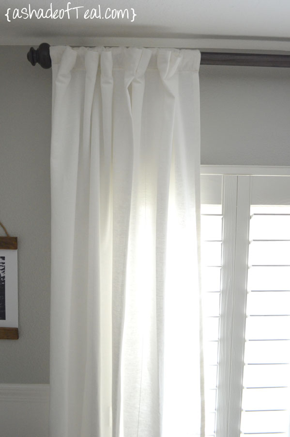 i love these curtains and the oh so easy diy curtain rod all together i only spent 17 dollars on this custom length curtain rod not too bad