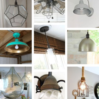 Unique and Interesting Light Fixtures with Hometalk