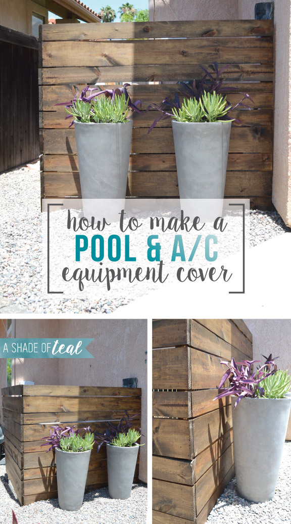 Clever Ways To Hide Ac Amp Pool Equipment