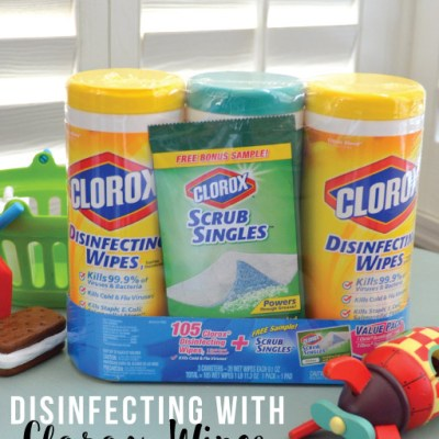 Keeping Kids Toys Clean with Clorox Wipes