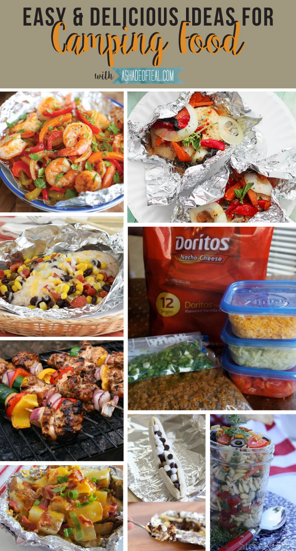 camping food ideas pinterest