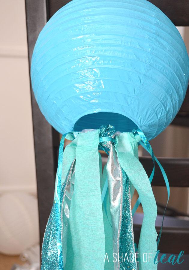 DIY How to make Jelly Fish Lanterns