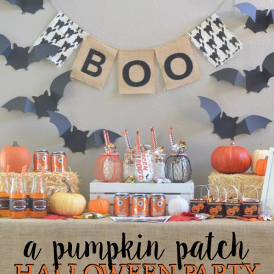 Pumpkin Patch Halloween Party + BOO kits!