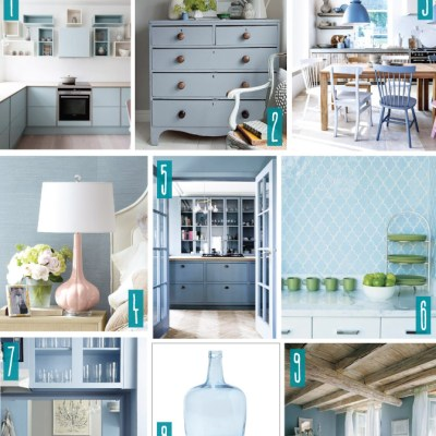 Color Series; Decorating with Serenity