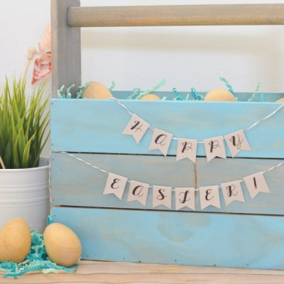 DIY // Wooden Easter Basket