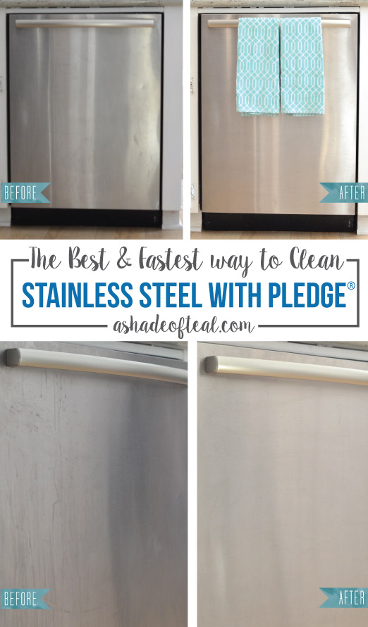 The Best Fastest Way To Clean Stainless Steel With Pledge