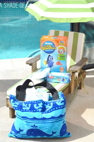 DIY // Turn a Towel into a Beach Bag
