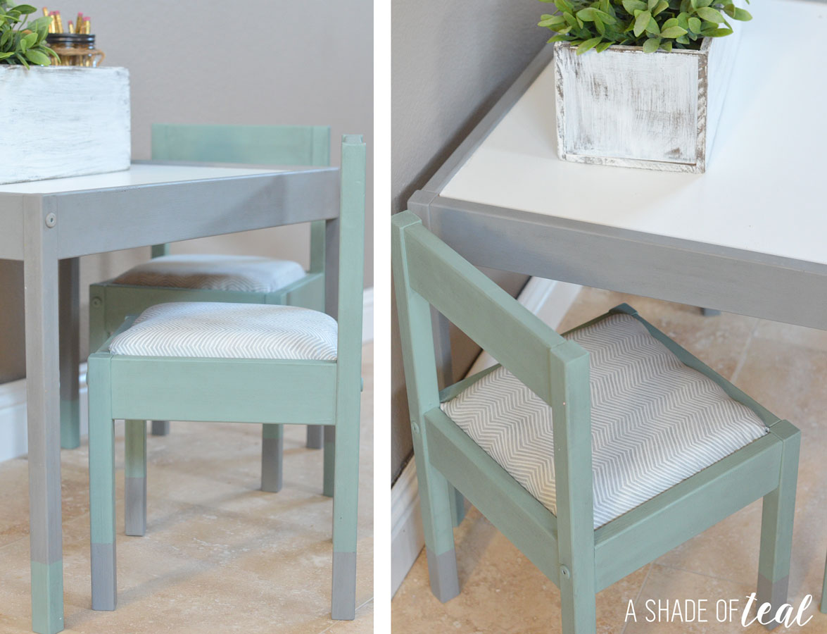 ikea hack latt kids table makeover