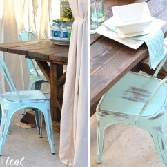 Rustic Farm Table And Chairs Wedding Finding The Perfect For A Farmhouse