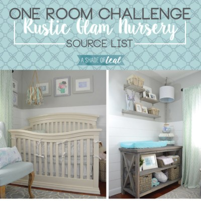 Rustic Glam Nursery {ORC}, Source List
