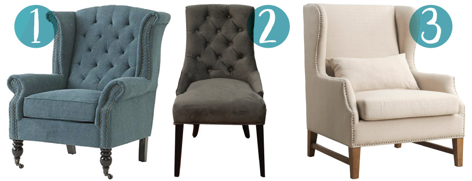 1 Milo Wing Chair ...