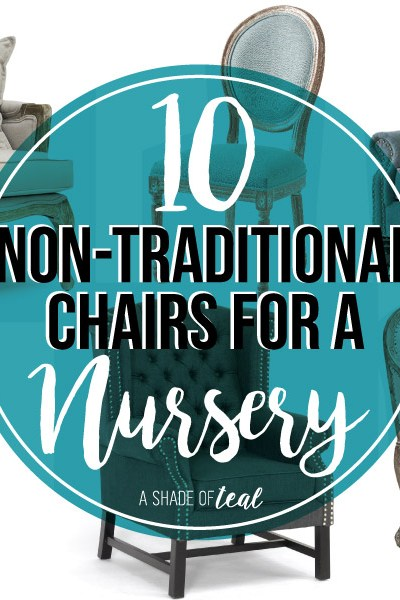 10 Non-Traditional Chairs for a Nursery