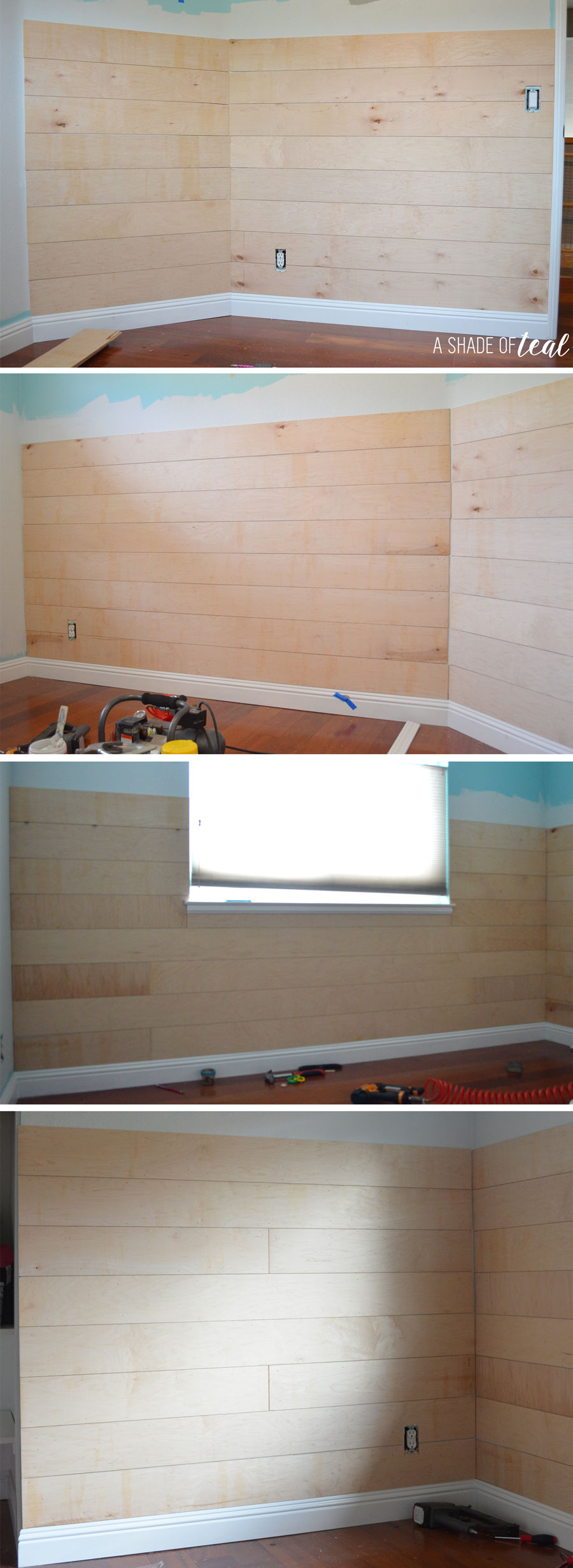 How to Install Faux Shiplap