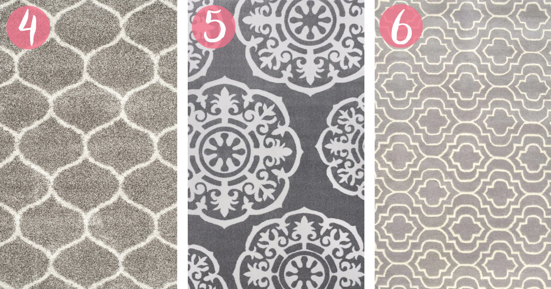 the best moroccan trellis rugs for a rustic glam nursery