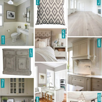 Color Series; Decorating with Greige