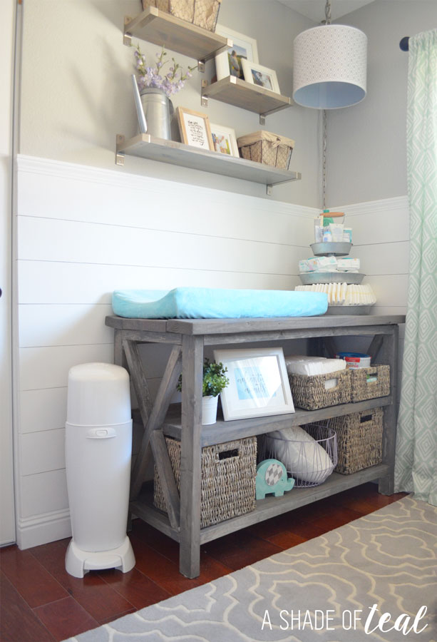 Create The Perfect Baby Changing Station Plus A Checklist Printable