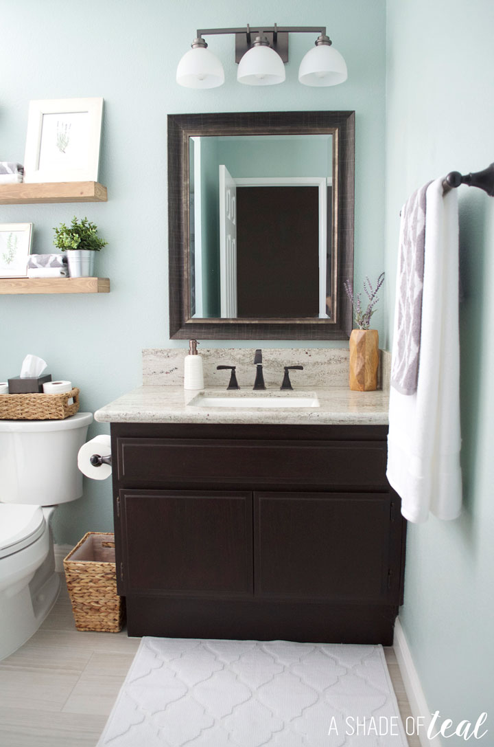Quick Easy Rustic Bathroom Refresh Interesting Bathroom Refresh Decoration