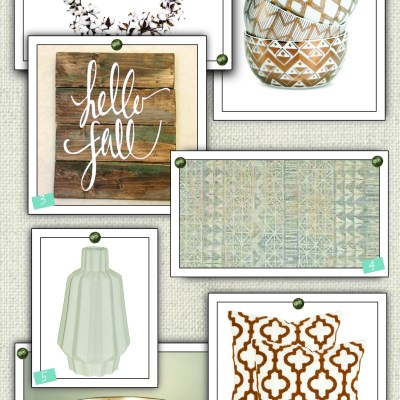 September {2016} Design Board